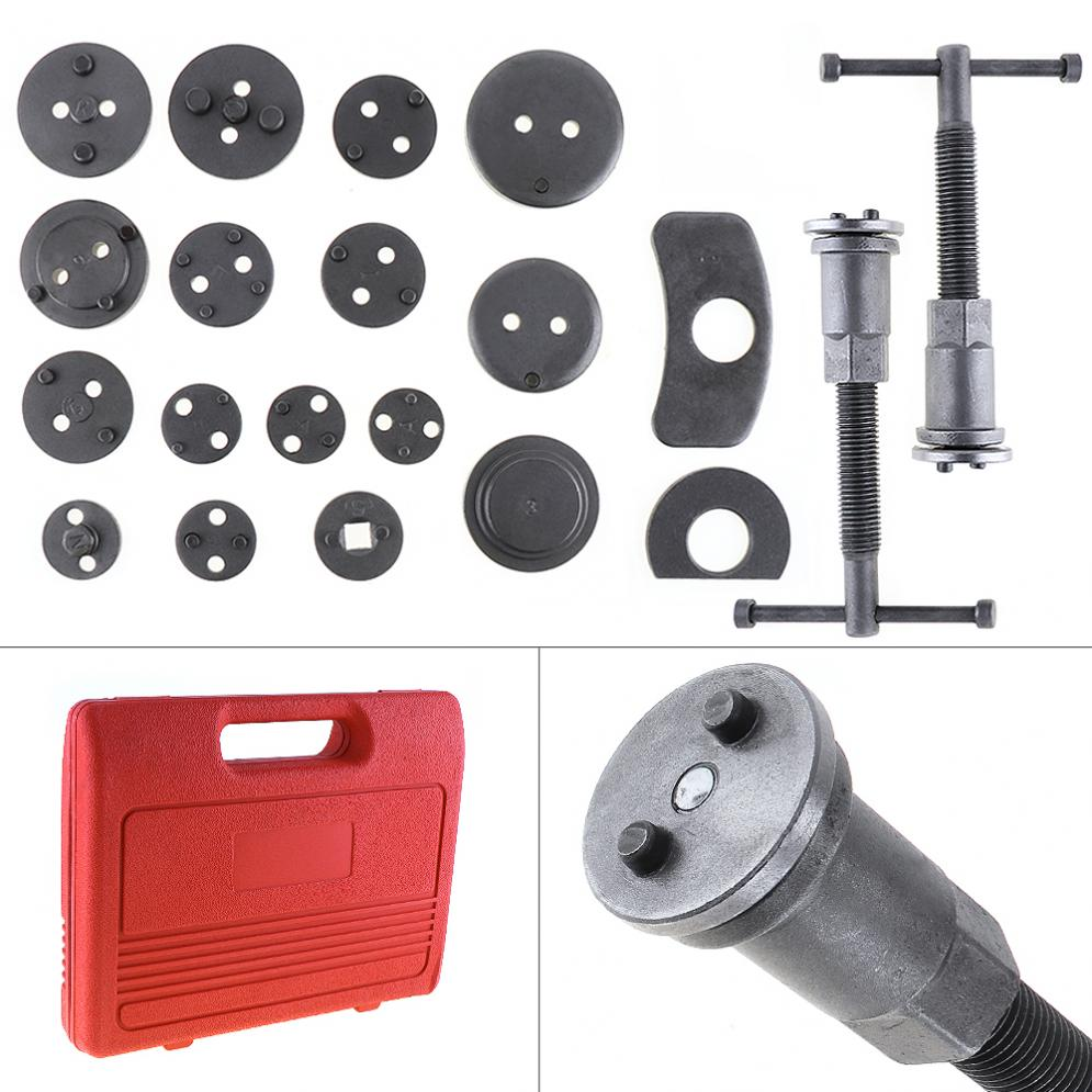 Most Automobiles Garage Repair Tools Universal Butterfly Car Disc Brake Caliper Wind Back Brake Piston Compressor Tool Kit goxawee 13pcs universal car disc brake caliper wind back brake piston compressor tool for car automobiles garage repair tools