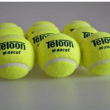 Брендовый качественный теннисный мяч для тренировок, синтетическое волокно, хороший резиновый мяч для соревнований, теннисный мяч, 1 шт., низкая цена, распродажа