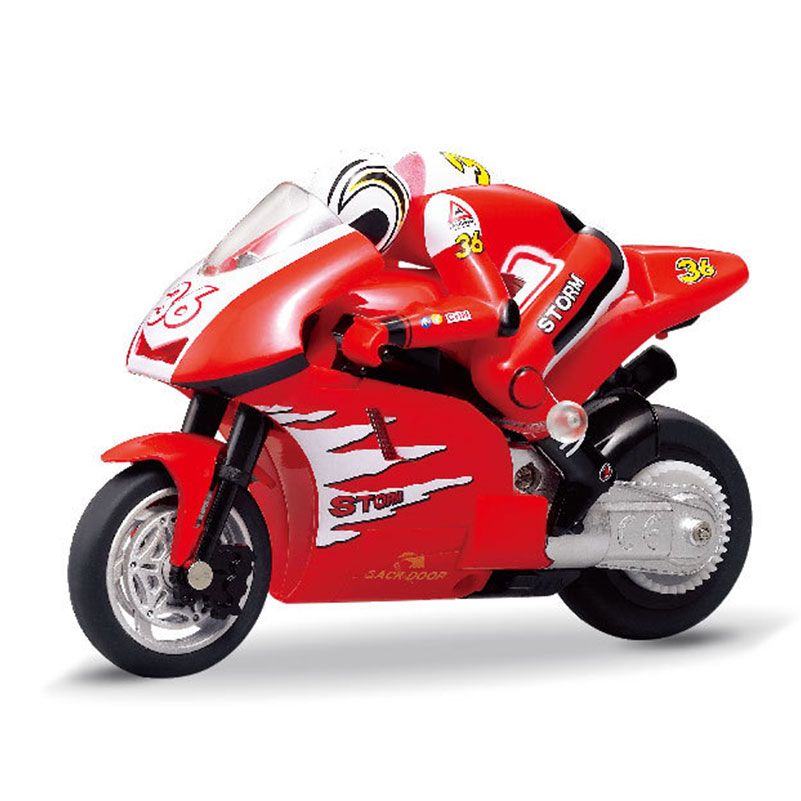 2.4GHz RC Motorcycle High Speed Drift Electric Motor RC Motorbike Model Remote Control Electronic Motor Toys for Children Gifts