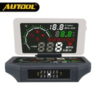 AUTOOL X360 3 IN 1 Car HUD Head Up Display AUTO OBD 2 Smart HUD Holder