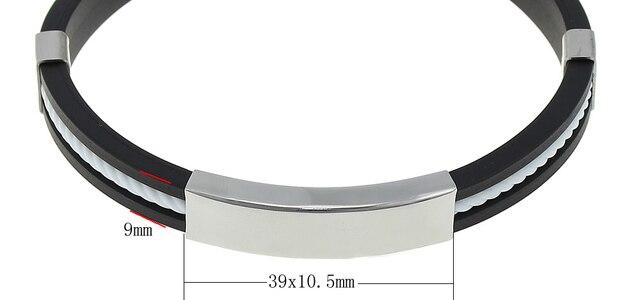 Bracelet Magnetique Silicone