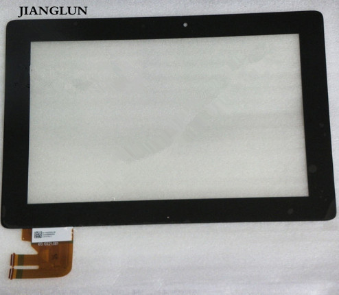 JIANGLUN NEW Front Panel Touch Glass Lens Digitizer Screen For ASUS TF300T TF300TG 69.10I21.G01 tf300 g01 replacement tablet touch screen panel digitizer for asus eeepad transformer tf300 tf300t version g01 69 10i21 g01