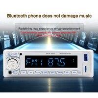 1PC 12V Car Card Bluetooth MP3 Digital Amplifier Car U Disk Radio FM With Remote Control