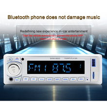 1PC 12V Car Card Bluetooth MP3 Digital Amplifier Car U Disk Radio FM With Remote Control