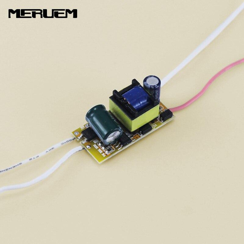 Free shipping 300Ma (4-7)x 1W Led Driver 4W 5W 6W 7W Lamp Light Driver Power Supply Lighting Transformer for E27/E14 LED lights