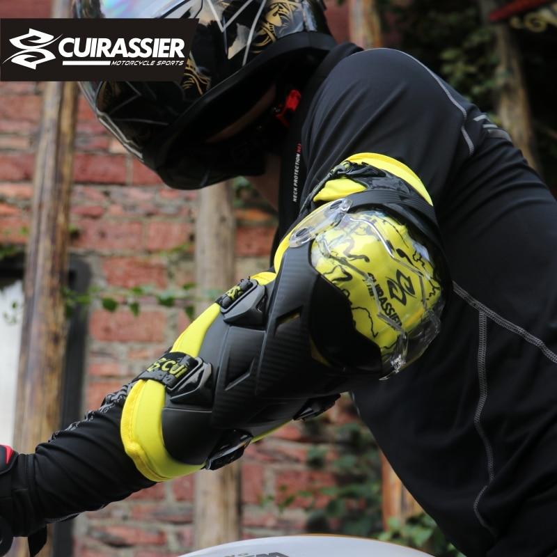 Cuirassier Qoruyucu Kneepad Motosiklet Diz Yastıqları Yoldan - Motosiklet aksesuarları və ehtiyat hissələri - Fotoqrafiya 6