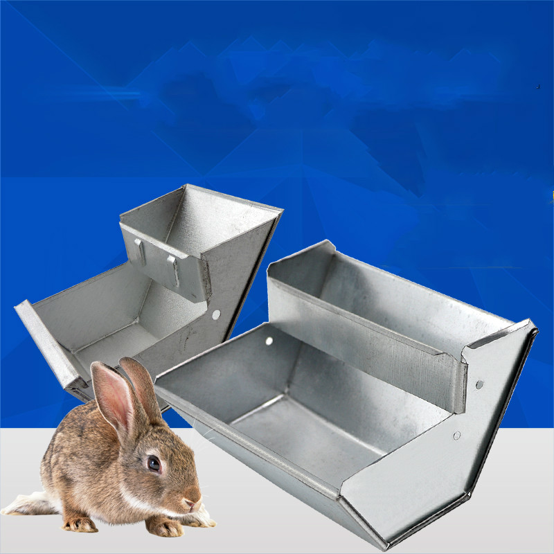 Free Shipping 6 Pcs Rabbit Feeder Drinker Bowl For rabbit Hutch font b Pet b font