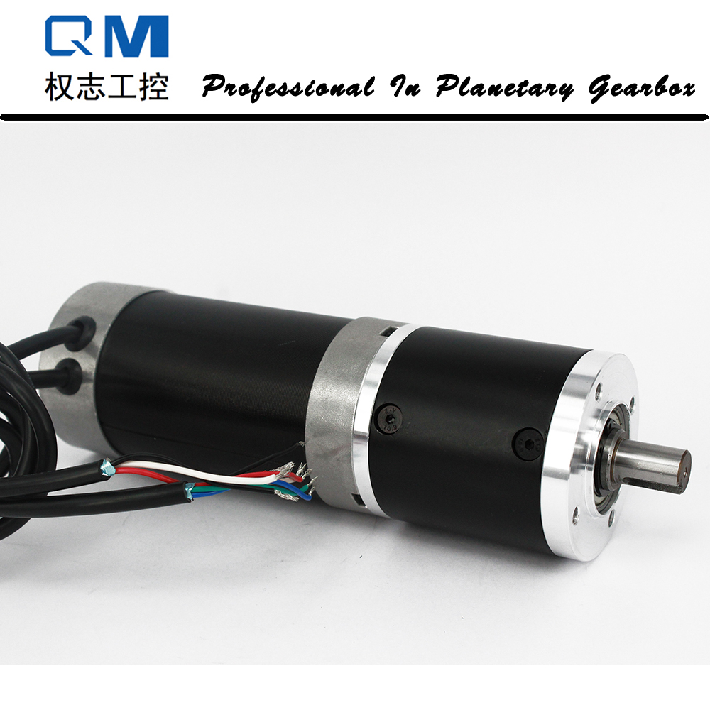 Gear dc motor nema 23 180W gear dc brushless motor bldc motor planetary reduction gearbox ratio 15:1 high quality 5n m 42 42 119 7mm brushless dc motor with planetary gearbox reduction ratio 104 8