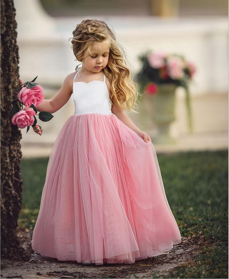 f9d4b9d87e68 SpXXXXbjXpXXq6xXFXXXA - elegant baby girls sling mesh tulle dress children  girls ankle length long