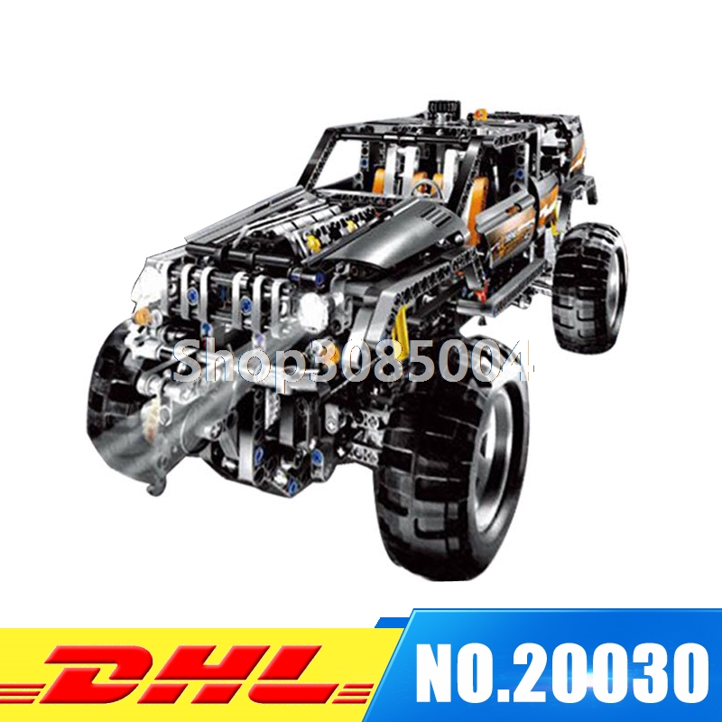 IN STOCK LEPIN 20030 1132Pcs Technic Ultimate Series The Off-Roader Set Children Educational Building Blocks Bricks Toys 8297 lepin 20030 1132pcs technik ultimate off roader cars legoingly 8297 sets building nano block bricks toys for boy gifts