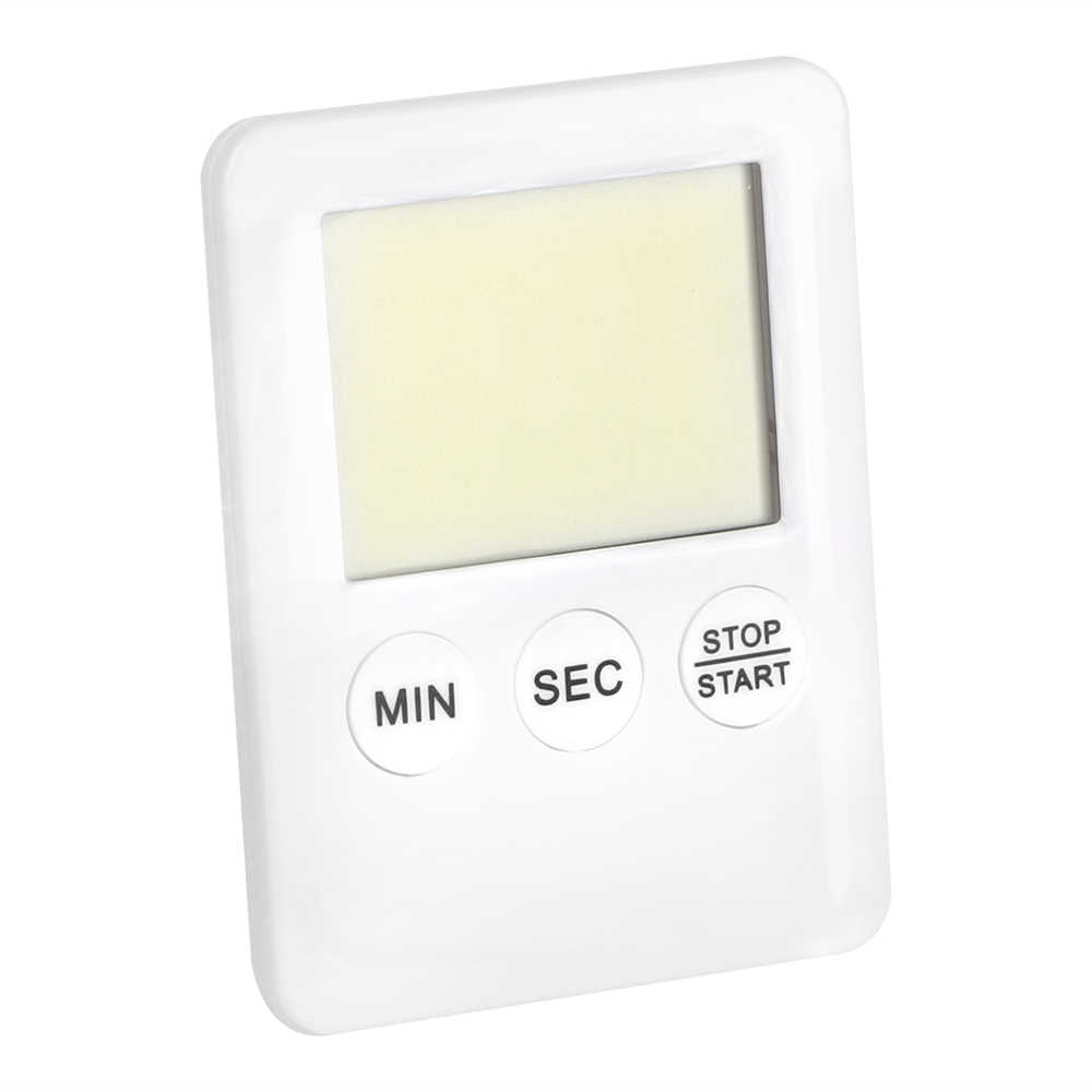 NICEYARD Quadrado Grande Tela LCD Digital Contagem Regressiva Alarm Clock com Ímã Fino Simples Moda Kitchen Cooking Temporizador