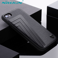 For Iphone 7 7 Plus Case Cover PU Leather Vintage TPU PC Hybrid Back Cover For