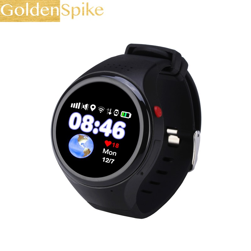 GoldenSpike T88 Smart Watch GPS WIFI LBS AGPS Tracking Children Elder SOS Passometer G-sensor Watch for Ios Android For Baby