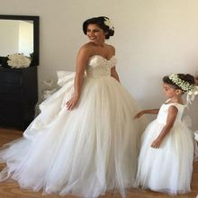 Elegant Sweetheart vestido de noiva Wedding Dress 2016 Luxury Lace with Bowknot A-line Tulle Bridal Gowns Plus Size Customized