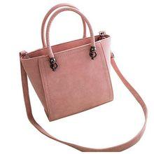 New Arrival Nubuck Women Handbag Fashion Women Shoulder Bag High Quality Women Messenger Bag Size Medium  F40-824
