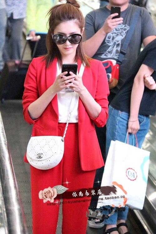 Féminin Rouge Nouveau Pour 1 À Mode Femmes 2 Hiver Casual Tenues Costume Et Longues Mince Manches Les Automne Chemise Pièce wEqtTg8xc