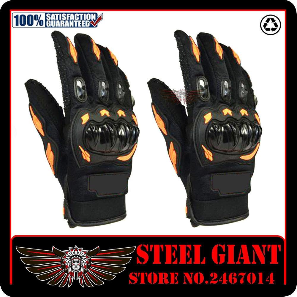 Full finger motorcycle gloves gants moto luvas motocross leather motorbike guantes men s moto racing gloves for
