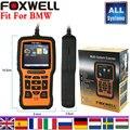 Диагностический инструмент для BMW форд chrsler fiat Gm Honda автомобильный диагностический сканер Foxwell NT510 все системы Сканер Код читатель