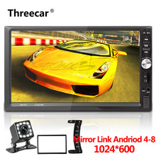 "Newest Double 2 Din Auto Car Radio 7"" Mirror Link Android Autoradio Bluetooth Car Mp5 Player Multimedia Audio Video Car Radio(China)"