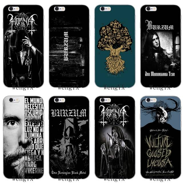 Norway band black Burzum Slim silicone Soft phone case For Xiaomi Mi 6 A1 5  5s 5x mix max 2 Redmi Note 3 4 5 5A 4X pro plus