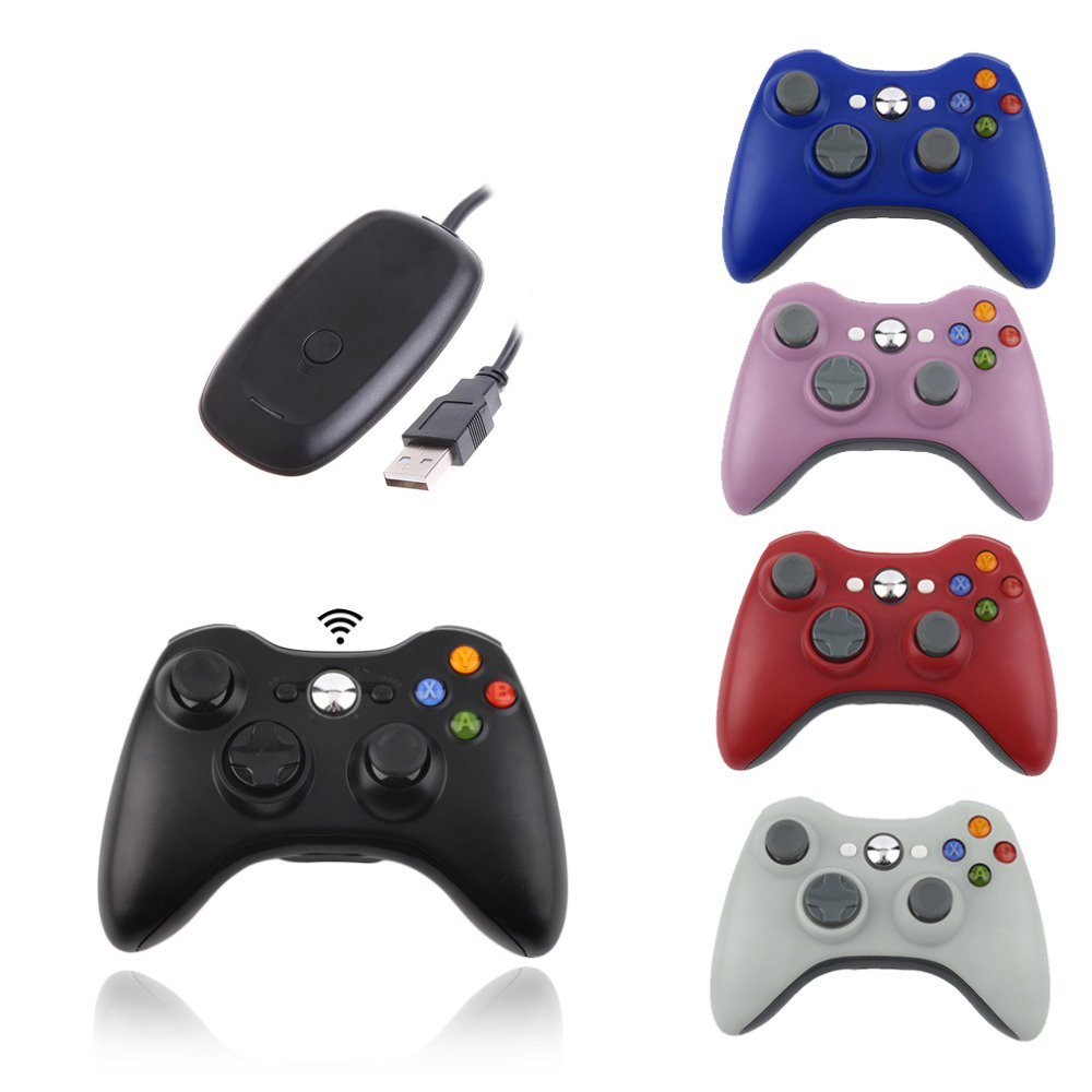 2 4G Wireless Remote Controller For Xbox 360 Computer With PC Receiver Wireless Gamepad For Microsoft