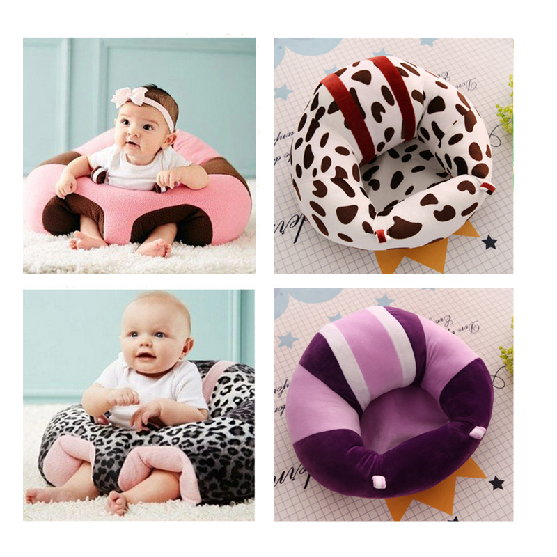 Baby Seat Plush Children's Soft Sofa Support Infant Learning To Sit Chair Keep Sitting Posture Comfortable For 0-24 Months Baby