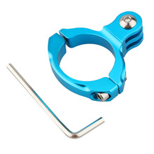 1PCS Blue Color Motorcycle Bike Bicycle Aluminum Handlebar Mount Tripods for Gopro Hero 1/2/3/3+ Camera Accessories Free Shiping