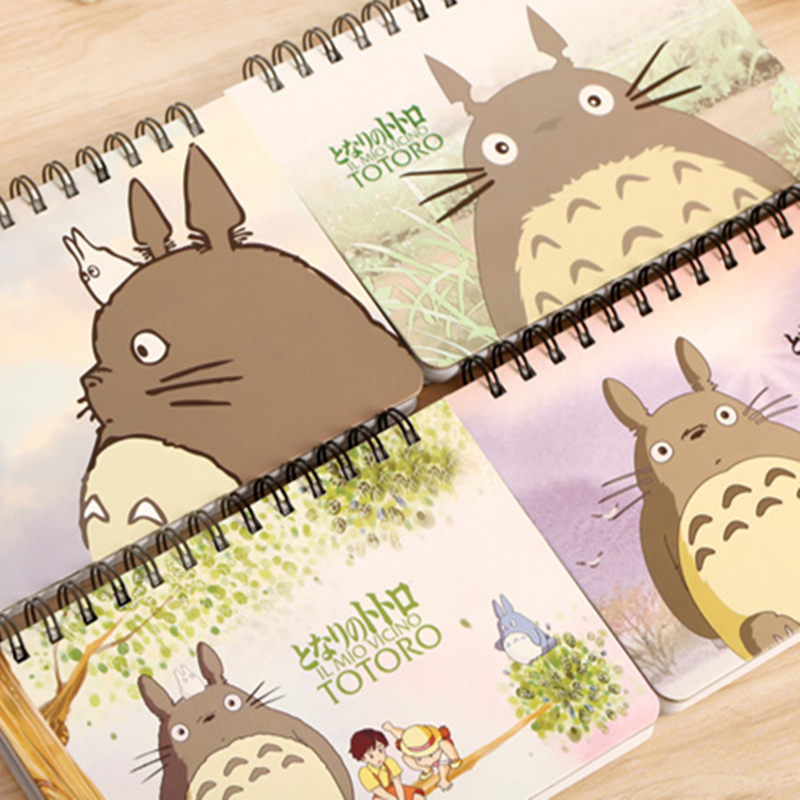 2019 My Neighbor Totoro Planner Totoro Diary Chinchilla Book Learning Efficiency Plan Planner Coil Book Notebook Calendar plan