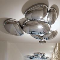 LED Postmodern Nodic ABS Chrome Water Drop Chandelier Lighting LED Lamp LED Light For Foyer Bedroom Dinning Room