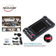 2,7 дюймов автомобиля Камера Двойной объектив F30 Ночное видение HD Видеорегистраторы для автомобилей автомобиля видеокамера Цифровой Регистраторы 120 градусов широкий угол обзора