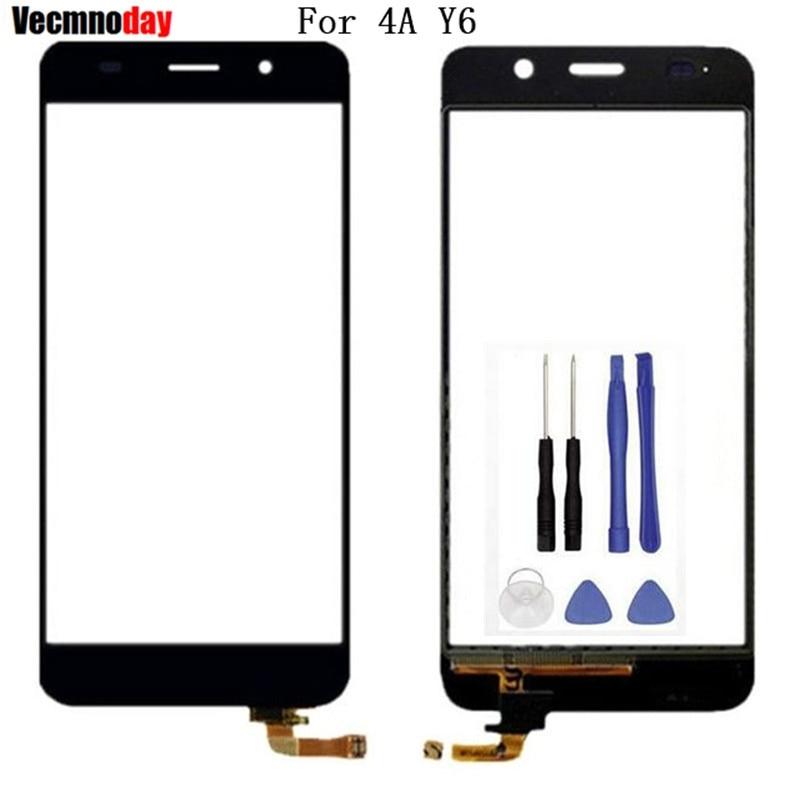 Vecmnoday qualité Avant Panneau de Verre Pour Huawei Honor 4A Y6 SCL-L32 SCL-L04 SCL-L02 SCL-L03 SCL-L01 digitizer écran tactile capteur