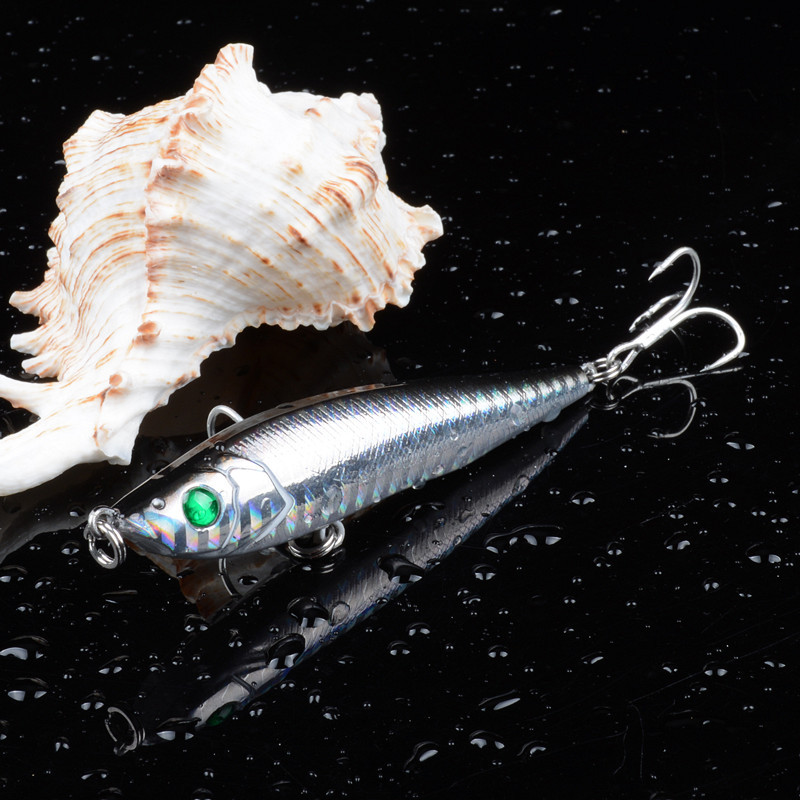 New Arrival Fishing Lure Floating Sinking Pencil 8cm 15g Whopper Popper Hard Bait Lure All Four Season Suitable UV Finishing in Fishing Lures from Sports Entertainment