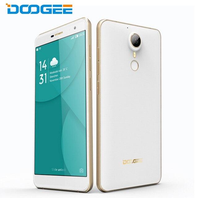 "Оригинал Doogee F7 Pro Сотовый Телефон 4 ГБ RAM 32 ГБ ROM MTK6797 Helio X20 Дека Core 5.7 ""экран 21MP Камера Android 6.0 OS Смартфон"