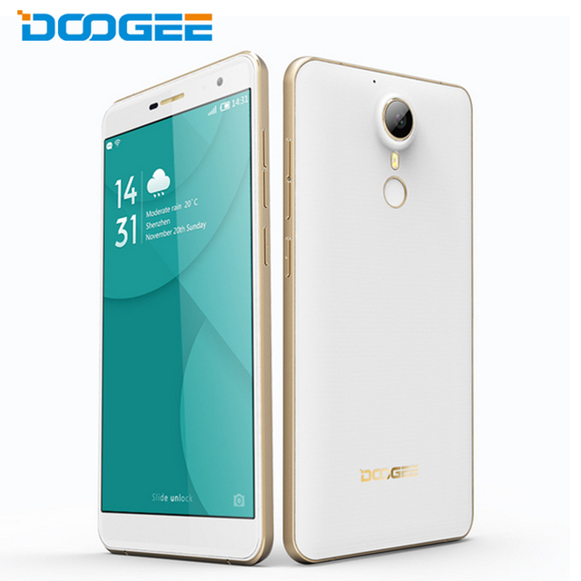 "Original Doogee F7 Pro Cell Phone 4GB RAM 32GB ROM MTK6797 Helio X20 Deca Core 5.7"" Screen 21MP Camera Android 6.0 OS Smartphone"