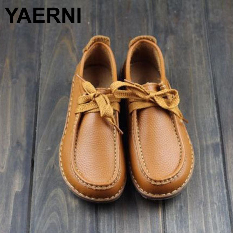 Aliexpress.com : Buy YAERNI Women Shoes Hand made Genuine