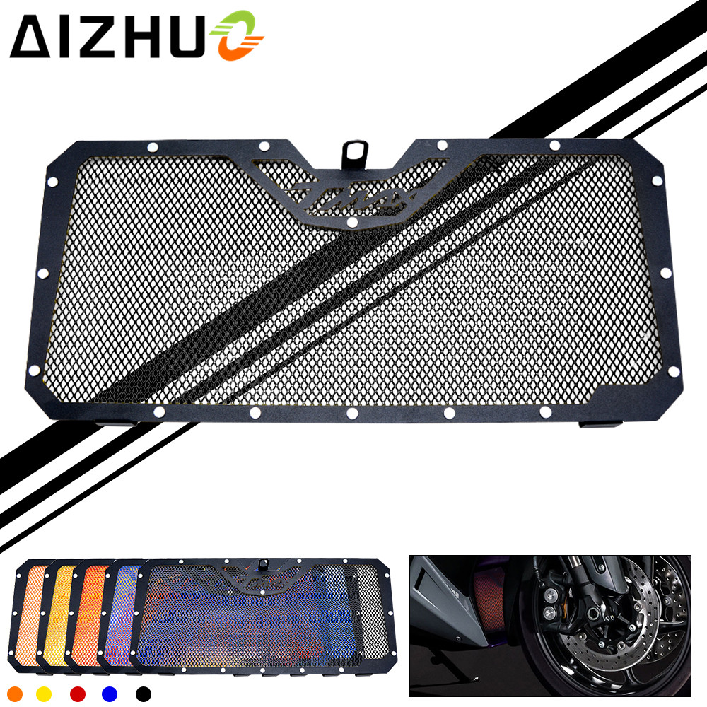 Motorcycle Radiator Grille Cover Motorbike Motor Accessory Stainless Steel Radiator Guard TMAX LOGO For YAMAHA TMAX 530 TMAX530