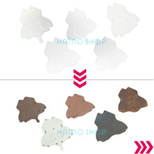 1pcs Animals DIY Leather Craft Template Clear Leather Crafts Plastic PVC Module Board