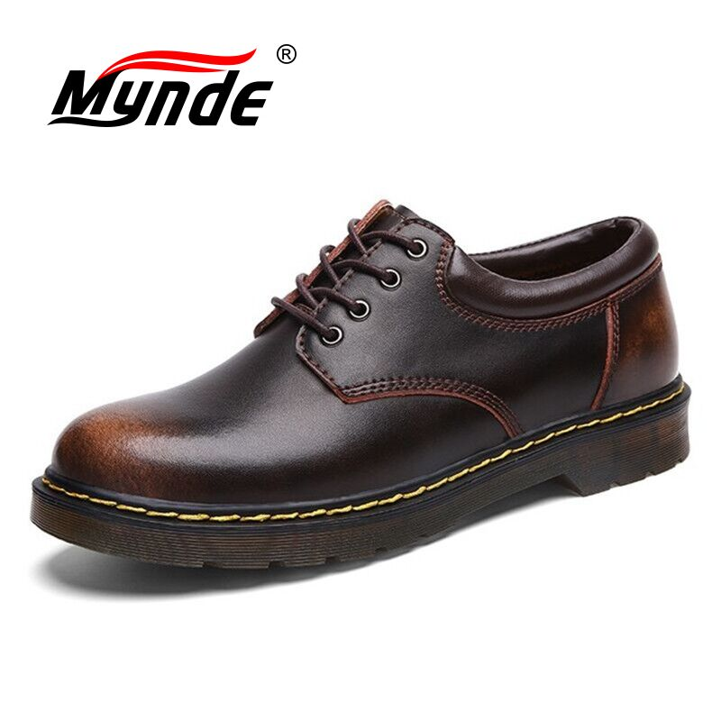 Big Size Brand Breathable Men's Oxford Shoes Top Quality Dress Shoes Men Flats Fashion Genuine Leather Casual Shoes Men Shoes