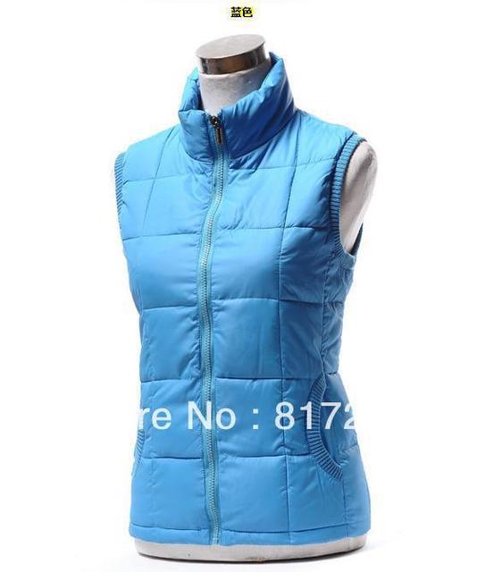 Hot New Arrival Winter sleeveless women vest lady fashion down-padded casual waistcoat Warm winter jacket Large size XL2XL/3XL