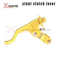 Motorcycle CNC Alloy Stunt Short Stunts Clutch Lever For Stunter CRF KXF KTM YZF RMZ SuperMoto
