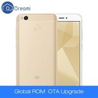 Dreami Original Xiaomi Redmi 4X  Octa Core Snapdragon 435 Global Rom 2GB RAM 16GB ROM 4100mAh Fingerprint ID 4 X  5 Inch