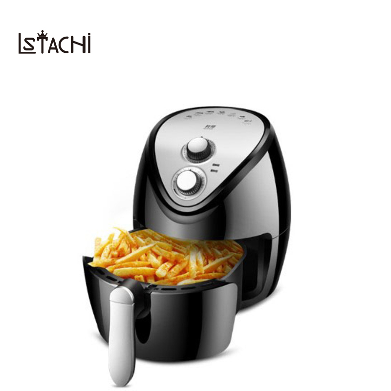 купить LSTACHi Intelligent oilless 3.8L Automatic household air fryer multi-function Oven NO smoke chips nuggets mozzarella stick maker онлайн