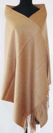 Moda camelo mulheres outono inverno 100% lã Pashmina grosso quente cor sólida capa Tippet xale hijab 180 x 72 cm C-039