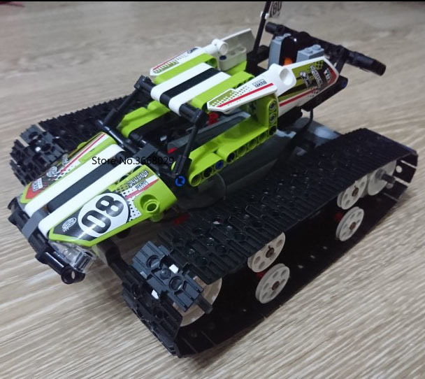 IN STOCK Technic Rc Tracked Racer Remote control car Building Blocks Power Function Model Brick Compatible