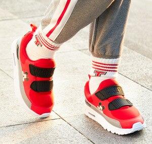 Image 4 - Disney kinderen sport casual schoenen herfst en winter nieuwe jongens zachte bodem anti slip luchtkussen schoenen running schoenen meisjes