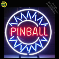 Pinball Billiards neon Signs Real Glass Tube neon lights Recreation Game Room Professiona Iconic Sign Advertise neon board Lamps