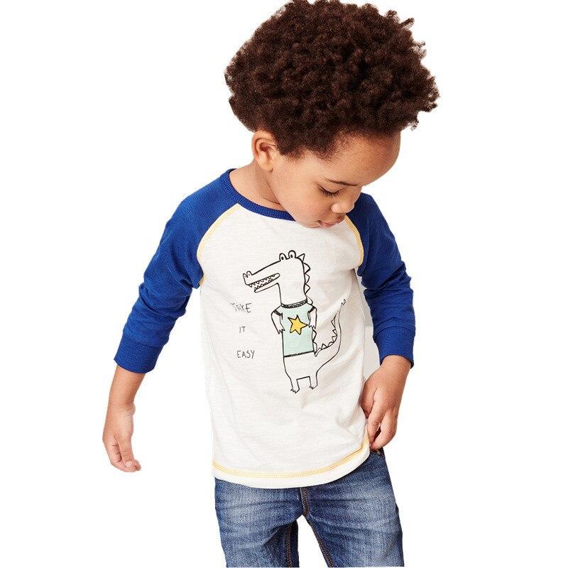 HTB13H2BcvWG3KVjSZFgq6zTspXaA Jumping meters Brand Boys T shirts Baby Clothes Cotton Long Sleeve Tees Cartoon New Cute Boys Girls T shirts Autumn Clothing