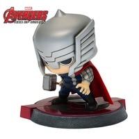 Marvel Avengers Thor Captain Iron Man Bobblehead PVC Action Figure Collectible Model Toy 5 5 DC012078