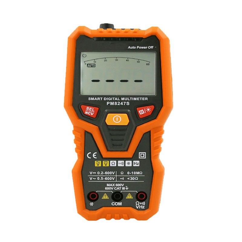 Livraison gratuite numérique Mini multimètre professionnel AC DC tension capacité résistance actuelle compteur électrique outil de mesure