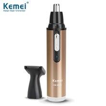 Kemei6629 2014 Moda Nariz Pelo Trimmer de Afeitar Eléctrica Segura Recortador Para Nariz Trimer Afeitar Cuidado Facial Envío Gratis